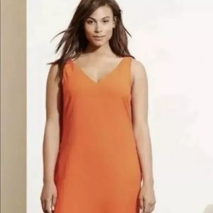 Ralph Lauren Dress Viena Orange size 16